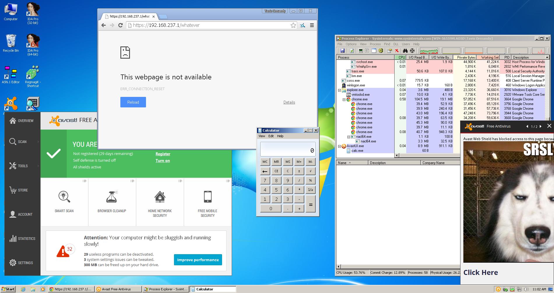 Avast Antivirus: X.509 Error Rendering Command Execution 1