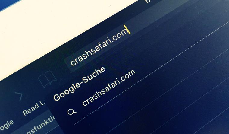 'CrashSafari' Links Will Kill Your iPhone 1 'CrashSafari' Links Will Kill Your iPhone